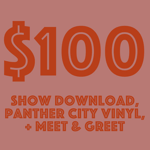 SUSU - Show Download, Panther City Vinyl, Meet & Greet
