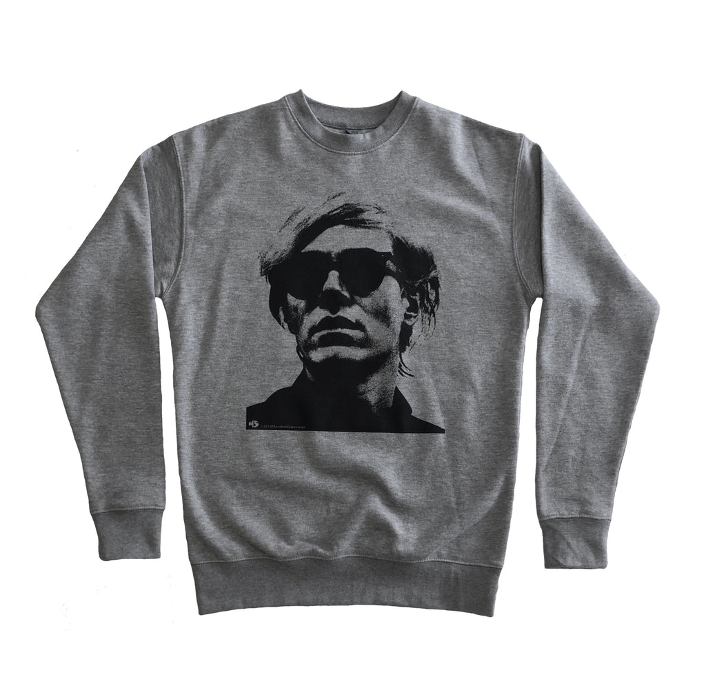 Warhol Grey Sweater