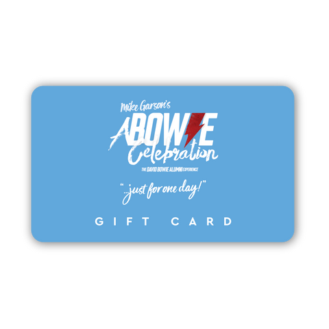 A Bowie Celebration Gift Card