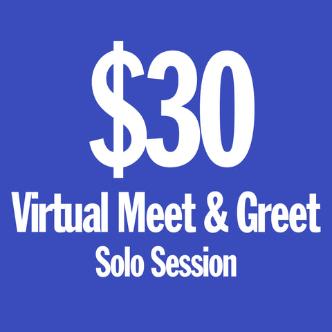 Soraia - Virtual Meet & Greet Solo Session