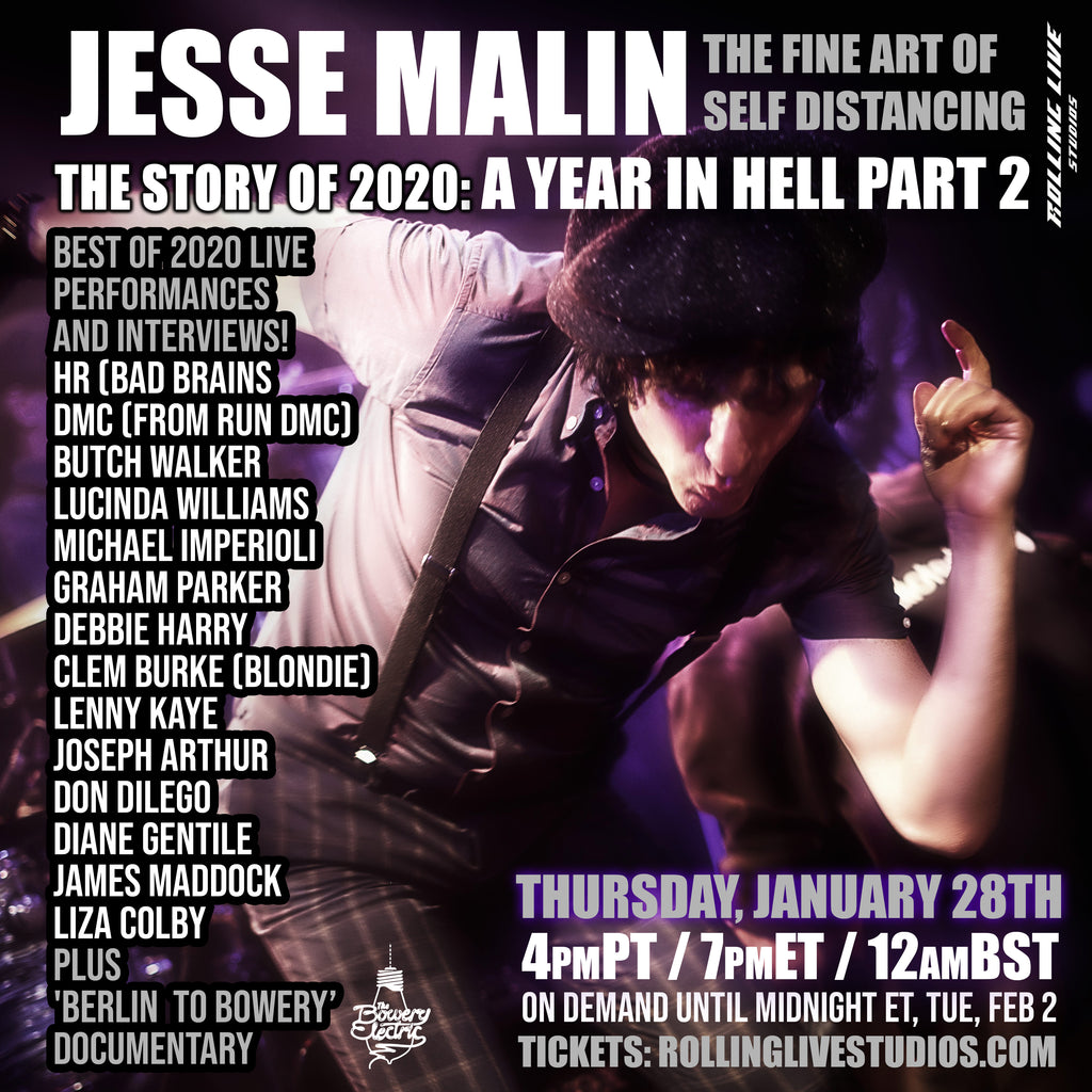 Jesse Malin - VIP Experience - Best Of 2020 - Pt 2
