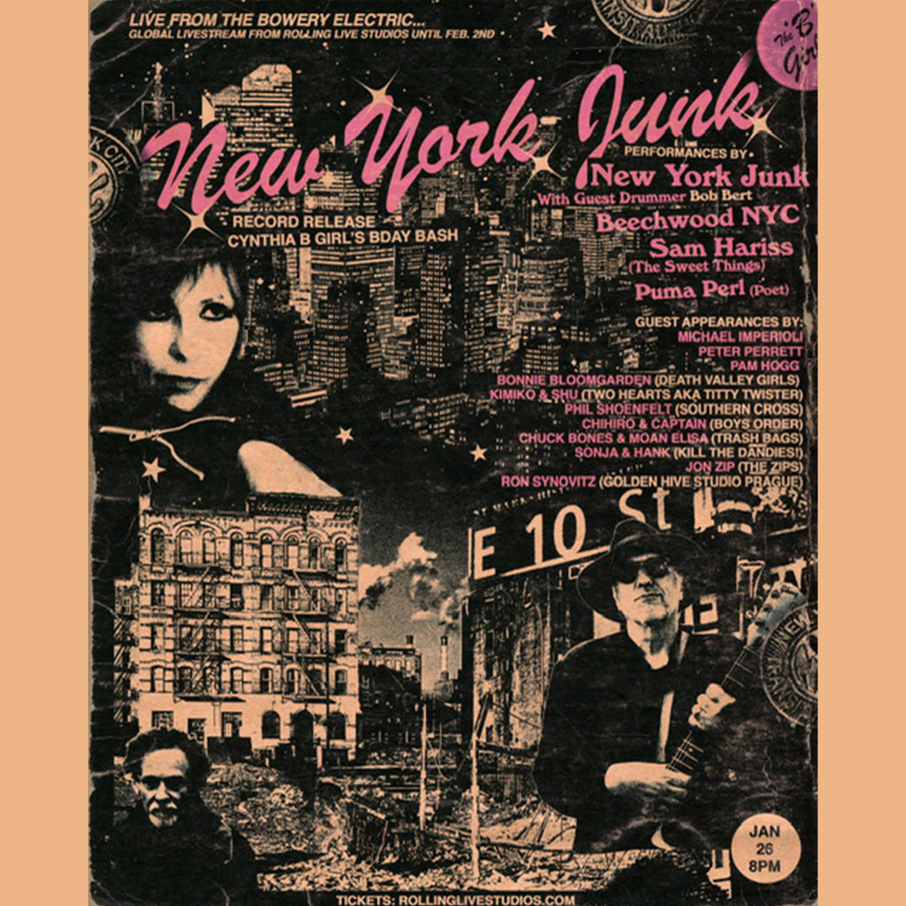 New York Junk - General Admission