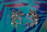 Alice's Whimsical Floral Stud Earrings