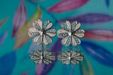 Dainty Daisy Mae Floral Stud Earrings