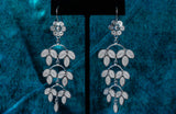 Laurel Floral Dangle Earrings