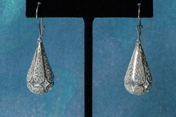 Timeless Sterling Silver Teardrop Dangle Earrings