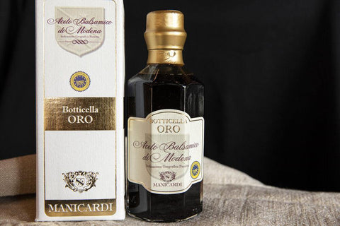 MANICARDI - 5-Year Aged Modena Gold Cask Balsamic Vinegar - Donato Online Store