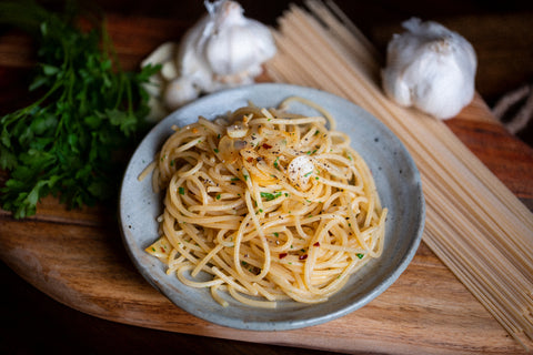 3/28 @ 11:45 AM - Aglio e Olio: The Midnight Pasta