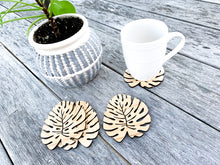 Load image into Gallery viewer, Boho Leaf Coasters