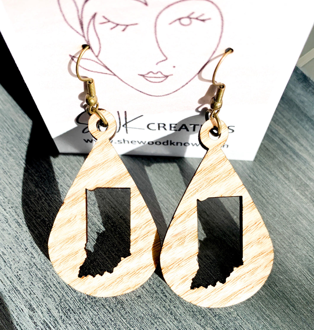 Indiana Teardrop Earrings