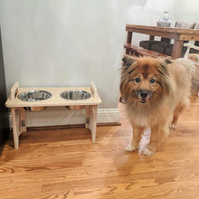 Load image into Gallery viewer, Stow Away Dog Bowl Stand