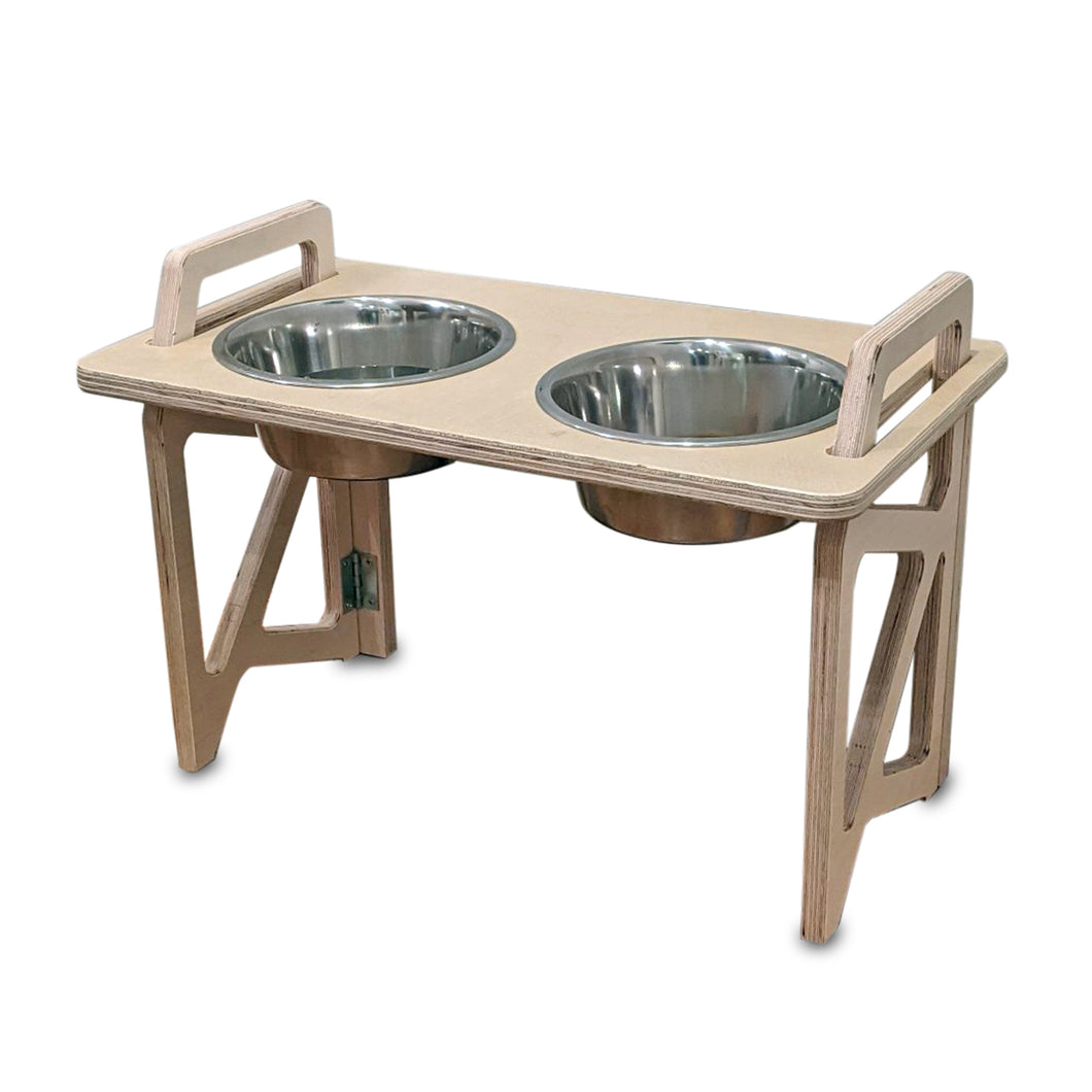 Stow Away Dog Bowl Stand