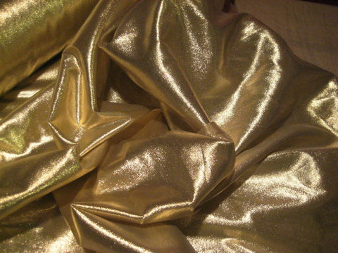 Lame Fabric in Gold