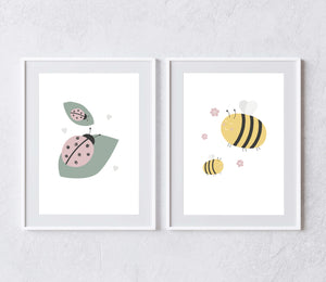 Spring Time Collection (set of two prints)