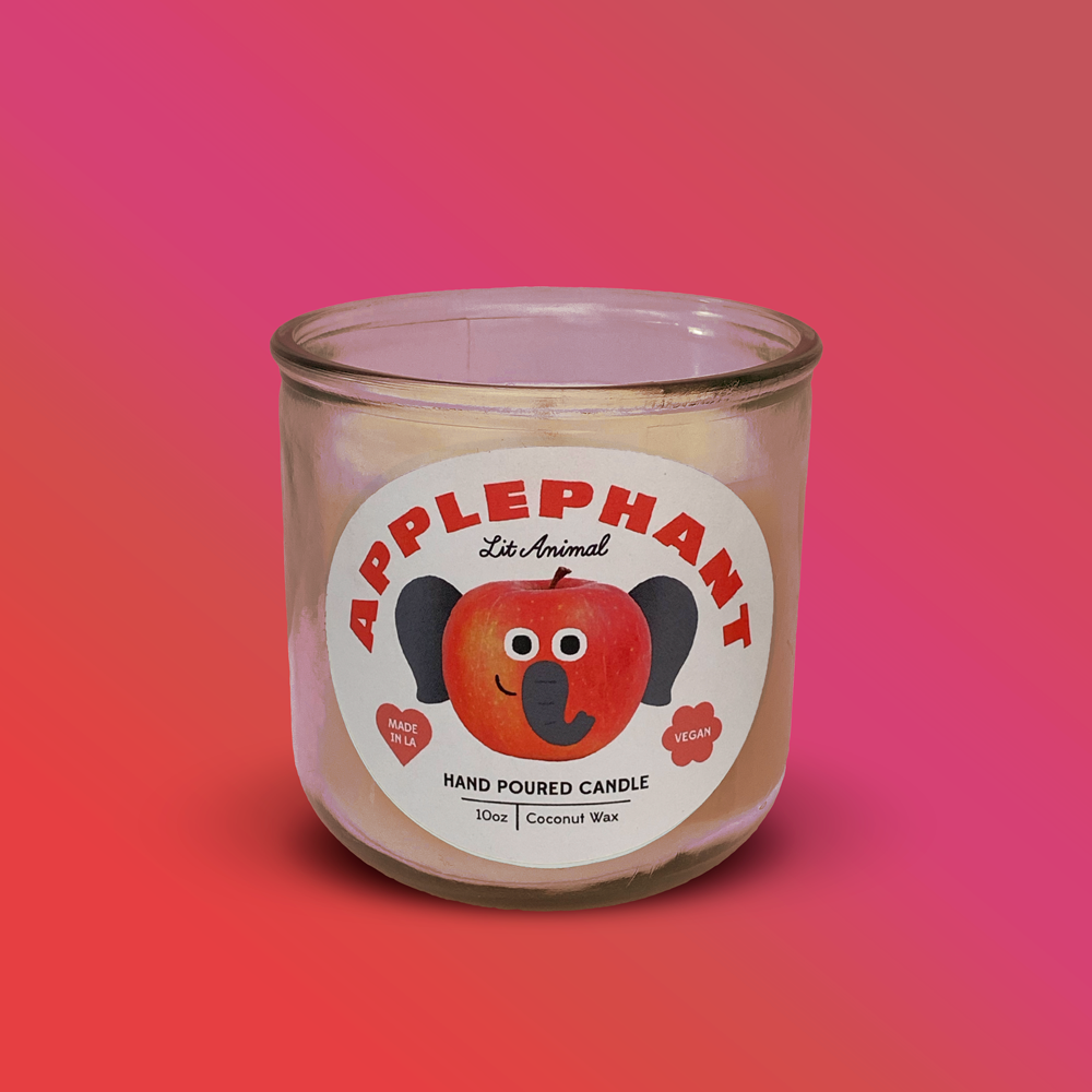 APPLEPHANT: Apple Harvest Hand Poured Candle