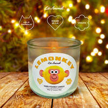 Load image into Gallery viewer, LEMONKEY: Lemon Verbena Hand Poured Candle