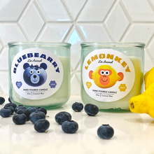 Load image into Gallery viewer, BLUEBEARRY: Blueberry Cheesecake Hand Poured Candle