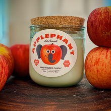 Load image into Gallery viewer, APPLEPHANT: Apple Harvest Hand Poured Candle