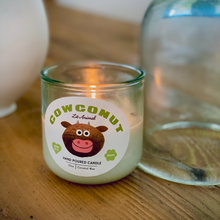 Load image into Gallery viewer, COWCONUT: Coconut-Vanilla Hand Poured Candle