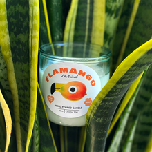 Load image into Gallery viewer, FLAMANGO: Tropical Fruit Hand Poured Candle