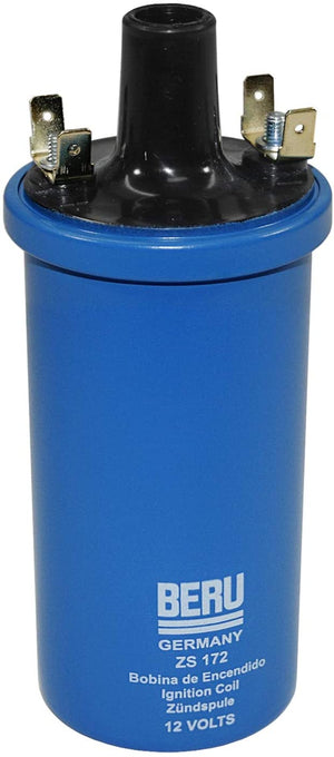 Beru Blue Ignition Coil - 3 ohm Internally Regulated