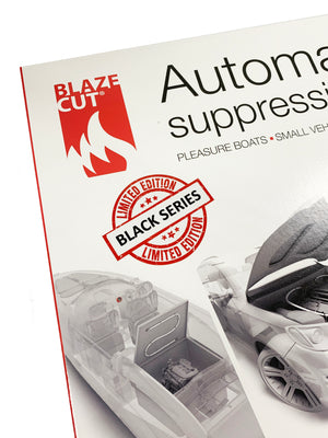 BlazeCut T200E (6') LIMITED EDITION BLACK