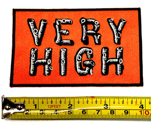 """Very High""  Patch"
