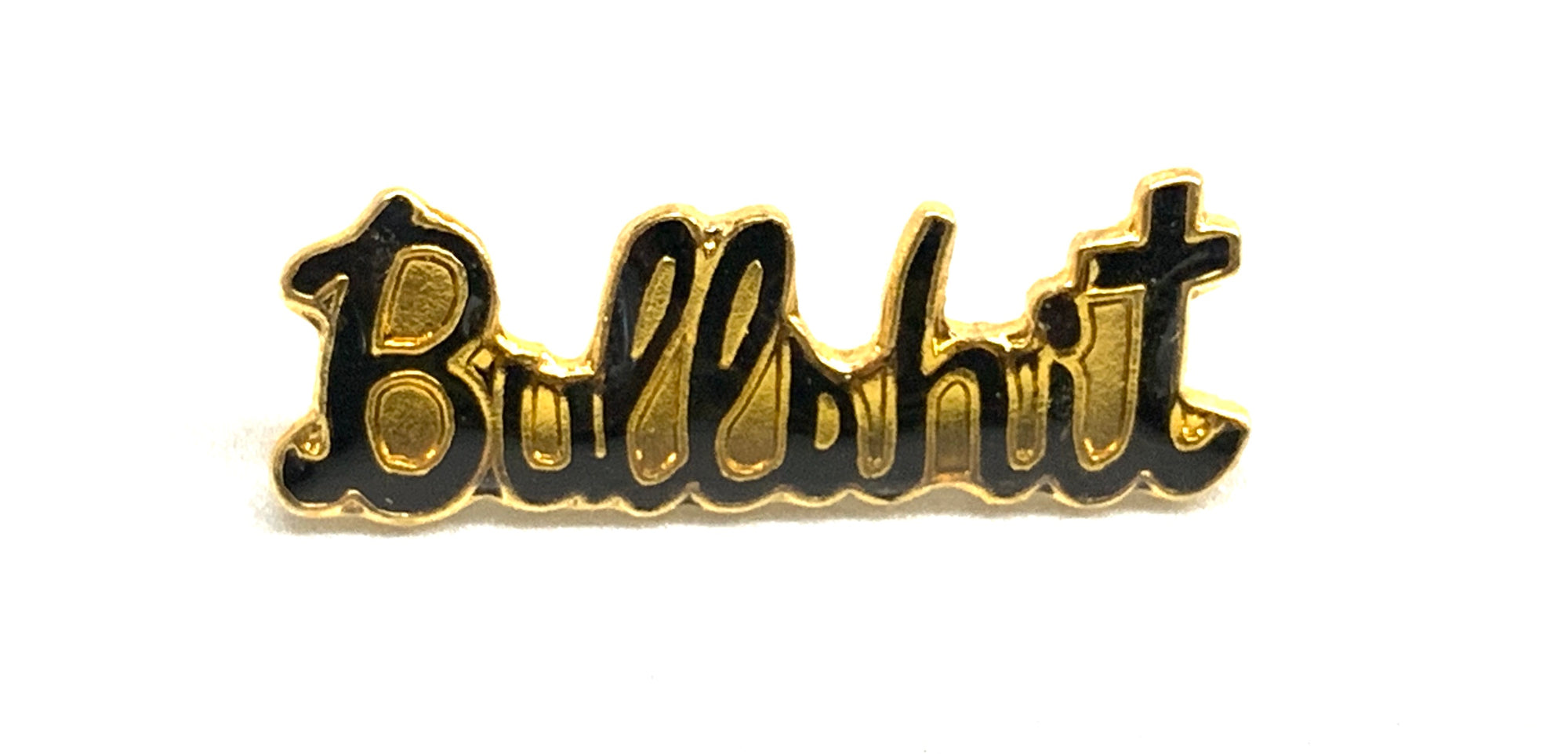 """Bullshit"" Lapel / Hat / Jacket Enamel Pin"