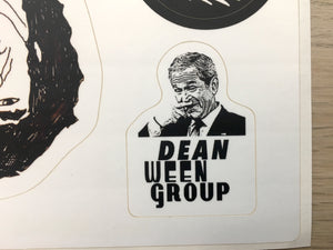 Fingerbangin' Dean Ween Group Sticker Sheet