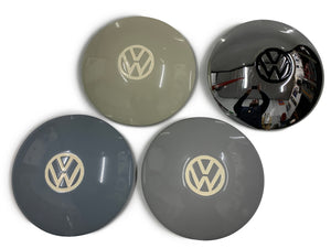 Commercial Wide Five Hubcaps Painted Centers - Silver Gray - Bay Window