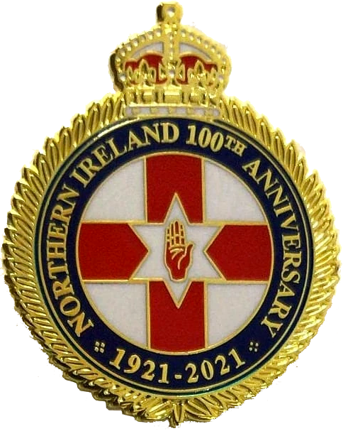 Northern Ireland 100th Anniversary Badge