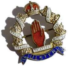 36TH ULSTER DIVISION BADGE