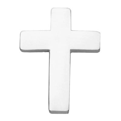 Christian Cross Pin Badge