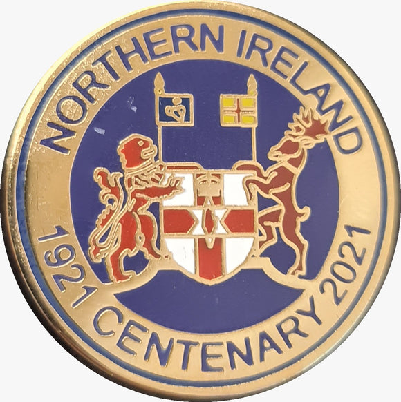 Northern Ireland Centenary Badge