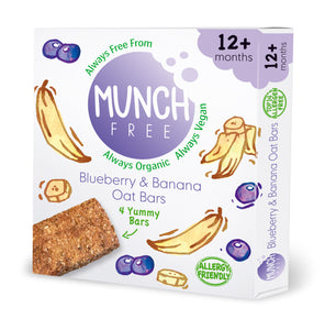 Blueberry & Banana Oat Bar