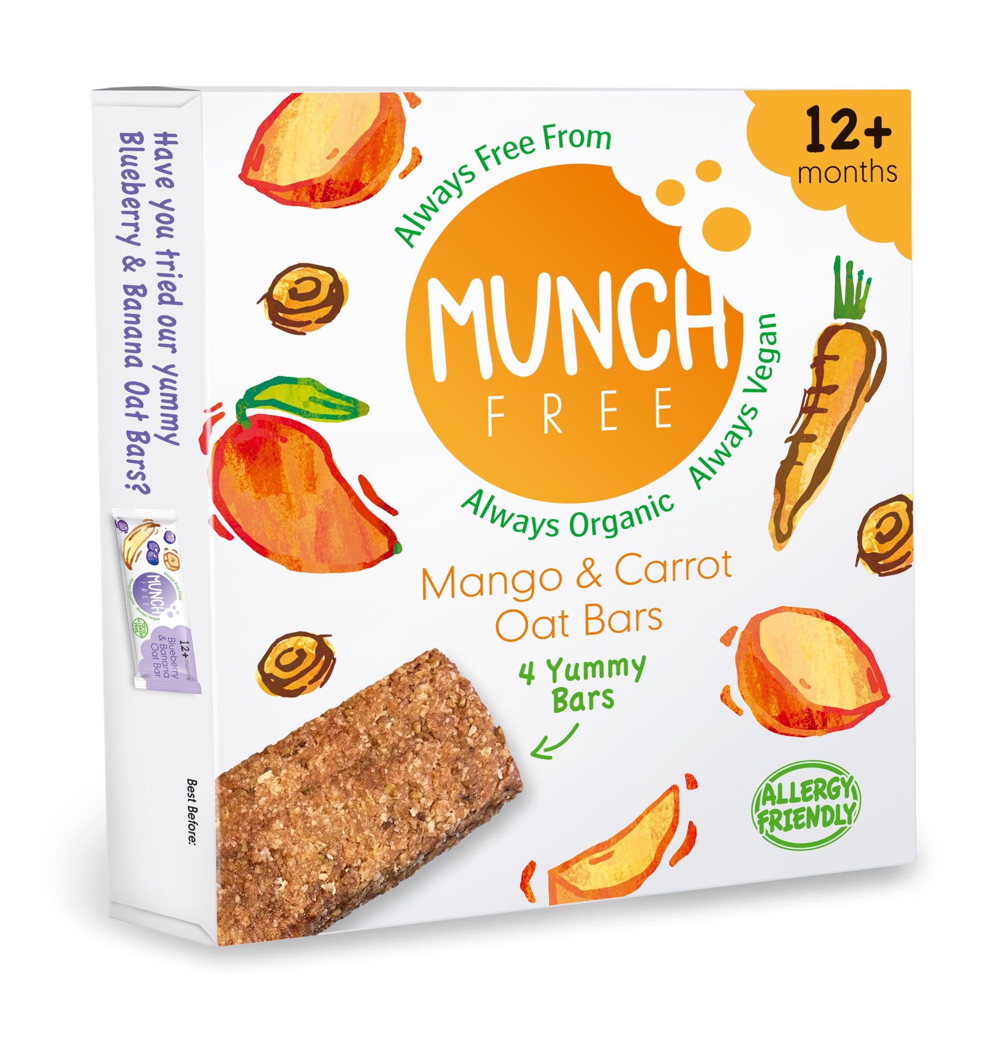 Mango & Carrot Oat Bar