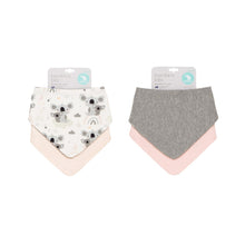 Load image into Gallery viewer, 2 Pack Reversible Bandana Bibs - Koala
