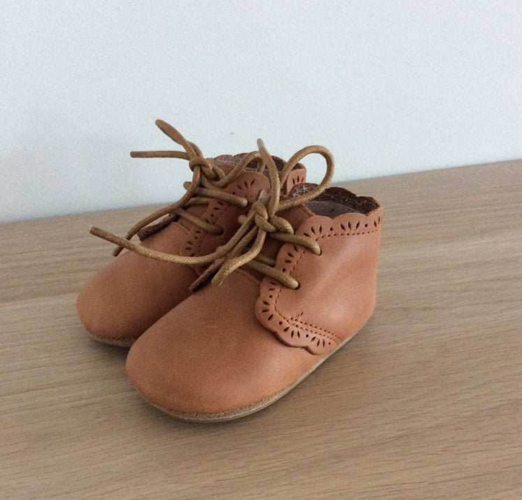 Lily Boot with detail - Brown