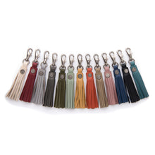 Load image into Gallery viewer, Leather Tassel - Sage