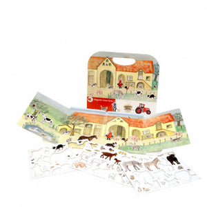 Magnetic Carry Case Game - Farm