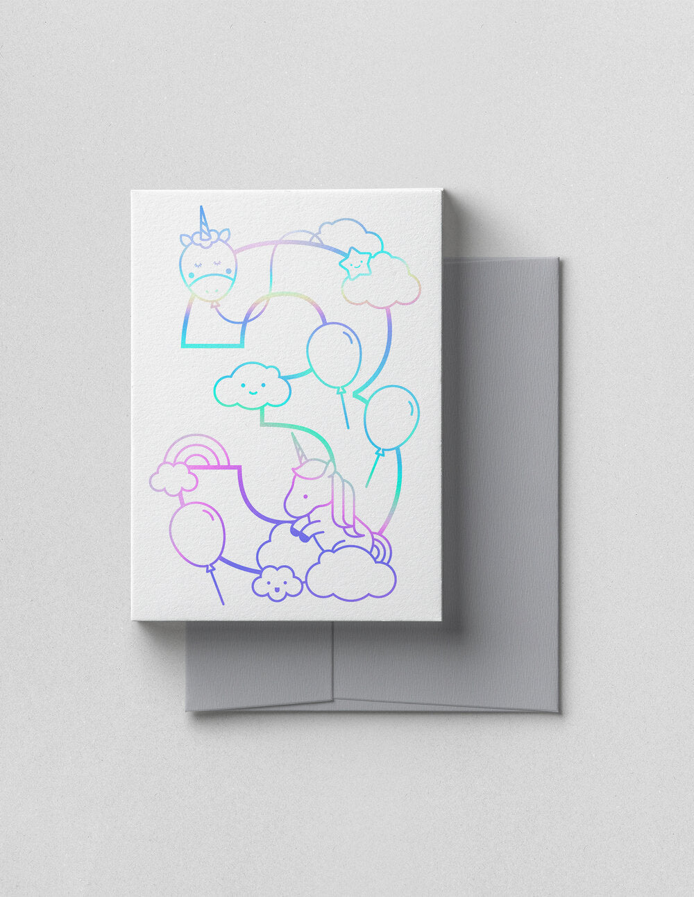V.Happy Papers | Third Birthday - Holographic