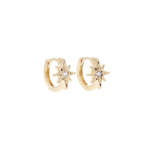 Load image into Gallery viewer, Crystal Star Earrings - Gold