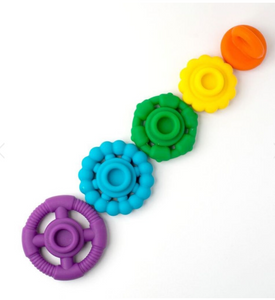 Rainbow Stacker Teether
