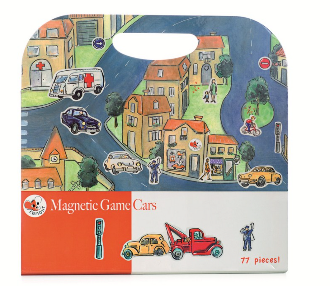 Magnetic Carry Case Game - Traffic