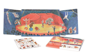 Magnetic Carry Case Game - Circus