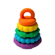 Load image into Gallery viewer, Rainbow Stacker Teether