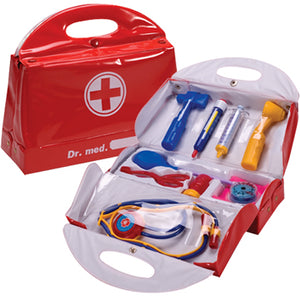 Vinyl Doctor's Bag with Accessories