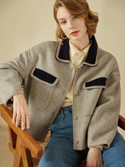 Veste Emmie 22142 simple retro veste mode vintage