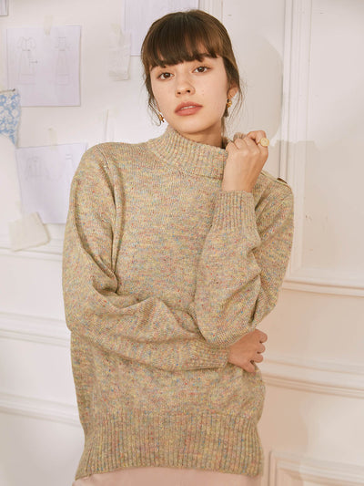 Sweater Abricot Dara-Simple Retro FR