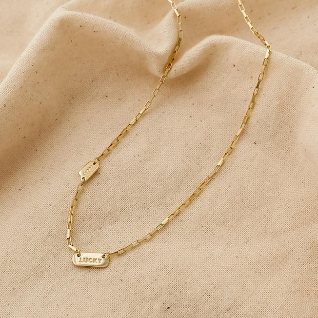 Collier Clavicule Lucky